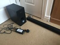 Samsung Sound Bar with Subwoofer