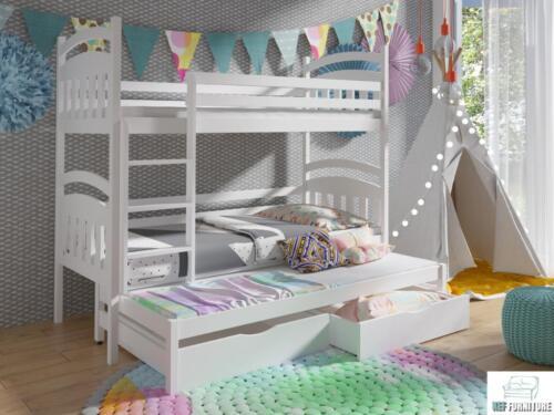 Etagenbett Holz 90x200 : Etagenbett 90x200 kinderbett hochbett stockbett holz matratzen in