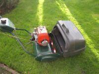 "Atco Balmoral Petrol Self Propelled 17"" Lawn Mower"