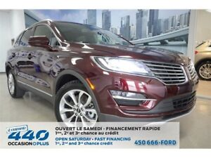 2017 Lincoln MKC Select | 2.0L TURBO AWD, CUIR, TOIT, NAVIGATION