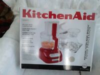 Kitchen Aid food processor. Never used as new still boxed