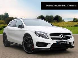 Mercedes-Benz GLA Class GLA45 AMG 4MATIC (white) 2016-01-29