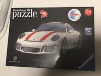 New 3D Porsche jigsaw puzzle - in original packaging
