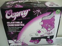 Osprey Adjustable Girls Quad Skates Size 13 - 3