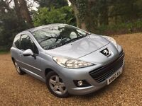 2010 Peugeot 207 1.4 Petrol FSH Bluetooth Very Good Condition