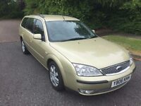 MONDEO 2.0 ZETEC ESTATE 06 REG WITH SERVICE HISTORY AND MOT MAY 2016 IN EXCELLENT CONDITION