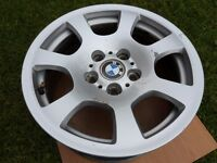 "OEM GENUINE BMW 5 Series 03-09 E60 E61 16"" Alloy Wheel Style 134"