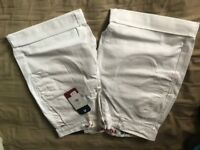 "Tommy white shorts 30"" mens"