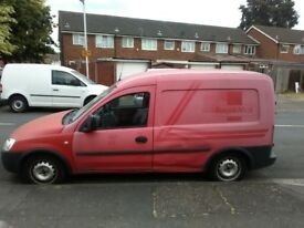 Vauxhall Combo CDTI 1.3 Repair/Spare First Time Start & Drive Well New F/B Pads Long MOT