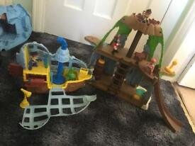Jake and the Neverland Pirates hide out & ship **need gone today**