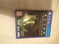 Alien isolation ps4 in great condition. nostromo edition
