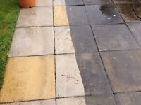 DRIVEWAYS PATIOS WALLS PRESSURE JET WASH 270 BARS WINDOW CLEANING REACH AND WASH UP TO 50 FOOT