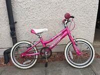 """Cuda Blox 16"""" Girls Bike (Pink)"""