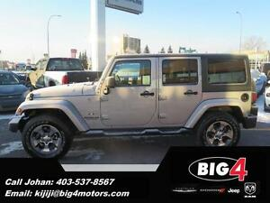 2016 Jeep Wrangler Unlimited Sahara, DEMO, Low KMs, Bluetooth