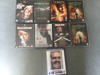 DVDS . FOR SALE HORROR X9.