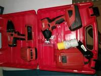 Hilti set drill & impact no festool, dewalt, makita