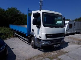 Daf Dropside lorry. 7500 KG Gross. Good runner, good condition all round