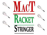 Professional racket stringing