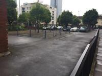 Car park space for available 5 mins to Canary Wharf E14