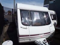 SWIFT CHALLENGER 49/5 5 BERTH WITH MOTOR MOVER AND AWNING AT CARAVAN SALES(LIVERPOOL)PX & FINANCE