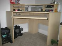 Office Desk - Great size, strong desk - originally bought from MFI