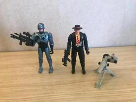 *RARE* Robocop and Pudface Figures 1994 orion Series