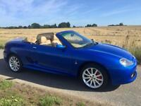 MGTF VVC (160) Trophy Blue / Leather Interior