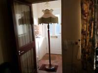 antique standard lamp large