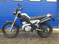 2014 RIEJU TANGO 125 TRAILS BIKE , FSH , HPI CLEAR QUALITY SPANISH BUILT MOTORCYCLE