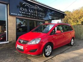 2013/13 VAUXHALL ZAFIRA EXCLUSIVE 7 SEATER/ONLY 38K FSH/OUTSTANDING CONDITION