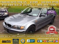 2004 BMW 320I LOW KM-Sunroof-Leather-Clean!