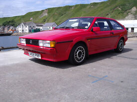 For Sale, 1991 VW Scirocco GT MK2, Tornado Red, Mot'd, car in very good condition £2500 ono