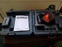dewalt dw088k crossline laser level
