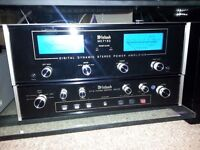 McIntosh C712 Pre Amplifier + MC7150 Power Amplifier