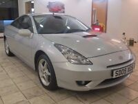 !!12 MONTHS MOT!! 2005 TOYOTA CELICA 1.8 VVTI / SERVICE HISTORY / IMMACULATE CONDITION / DRIVES WELL