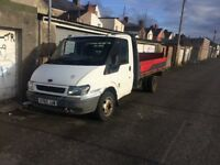Ford transit pickup and taillift 2001