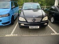 MERCEDES ML 270 CDI AUTOMATIC 2004 DIESEL SPARES OR REPAIRS BARGAIN IDEAL FOR BRAKING OR PROJECT
