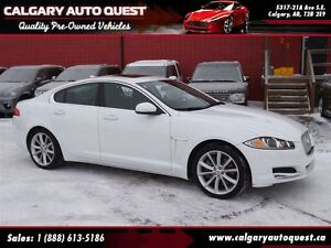 2015 Jaguar XF 3.0L V6 AWD/NAVIGATION/LEATHER/SUNROOF