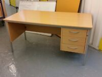 AS NEW USED CHEAP OFFICE FURNITURE TABLES DESKS CHAIR - ANY ITEM ONLY £15 !! ALL MUST GO ASAP
