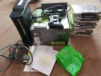 Xbox 360 Elite 120gb with loads of games