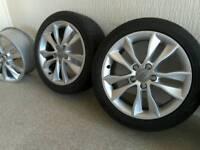 Genuine Audi A3 alloys