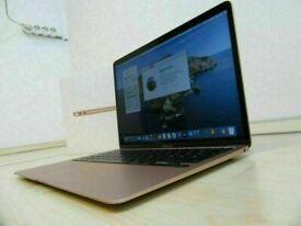ROSE GOLD Apple MacBook Air RETINA 13' 1.6Ghz 8GB Ram 128GB SSD Adobe Master Microsoft Office 2020
