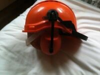 PROTECTOR SAFETY HELMET AND EARMUFFS