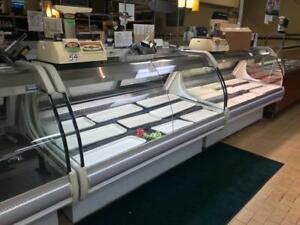 Bakery / deli closed ! 3 igloo deli display fridges and 2 digital scales / printers all for only ! $9,995! Free shipping
