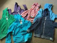 6 boys hoodies age 5/6 and 6 years