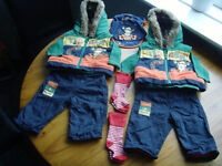 Twin Boys Bundle. 0-3 months. Disney George Tigger Outfit.
