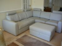 Corner Sofa And footstool