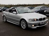2006 bmw 320 ci convertible M-SPORT only 73000 miles full history motd oct 2017 excellent example