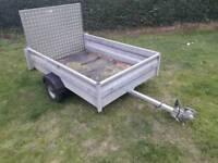trailer 6x4 gamic ifor williams