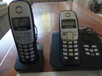 Siemens Gigaset A265 with answer phone Set of two